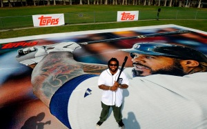 Prince Fielder standing on card
