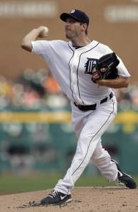Max Scherzer pitches his way into Wabash George territory. (AP)