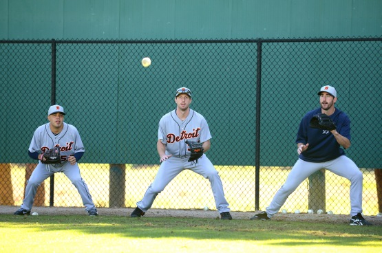 Detroit Tigers Workout